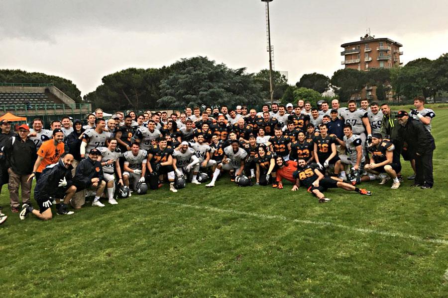 Rhinos Milano e Case Western Spartans 2018