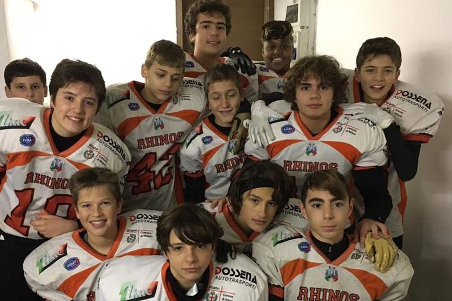 Rhinos Milano Under13 2019
